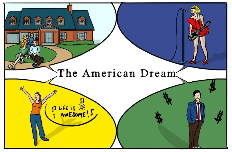 refutation is the american dream still With all the above happenings, the american dream can still be achieved through the norms that have been isolated norms such as old.