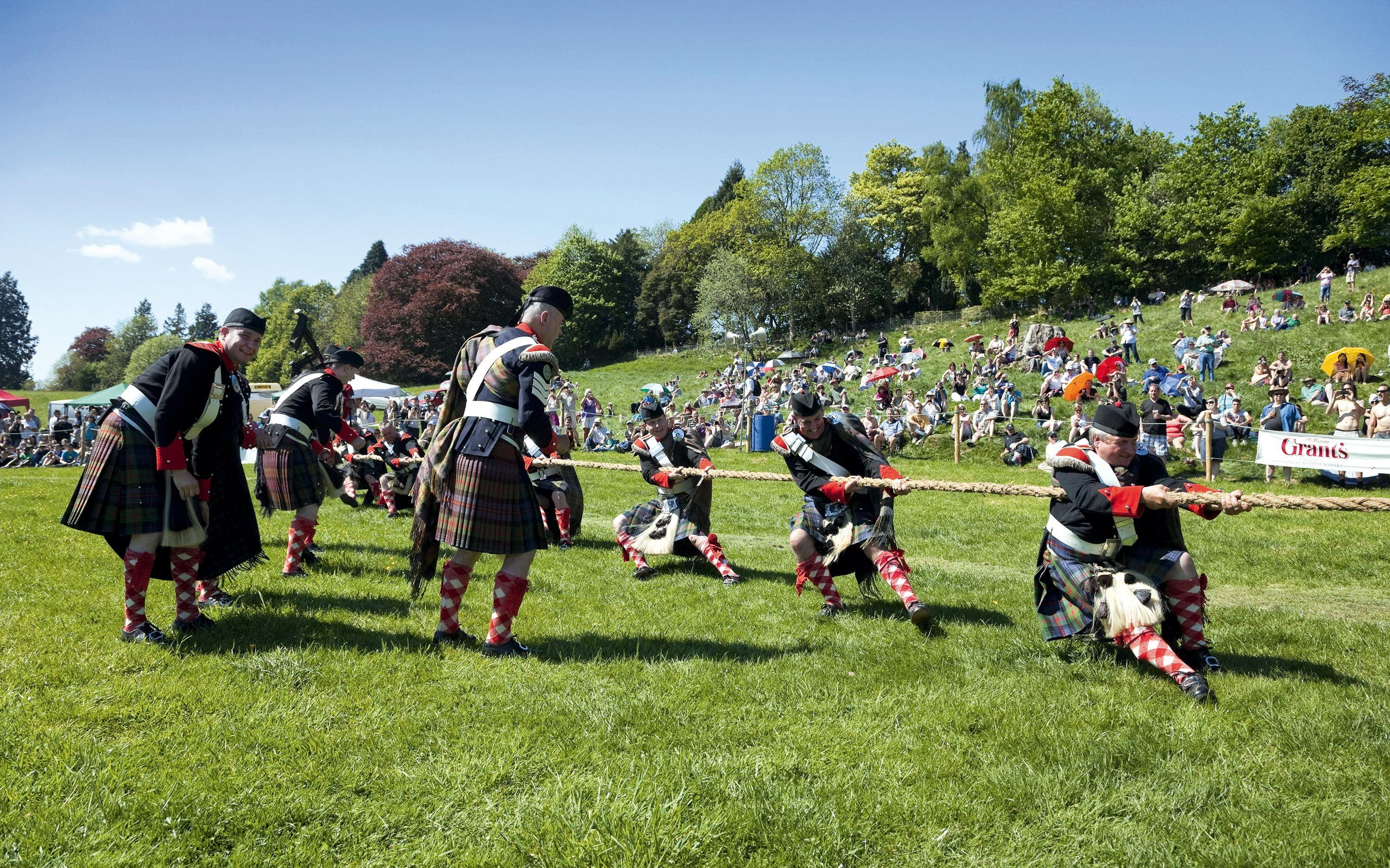 Sporting Events at the Highland Games
