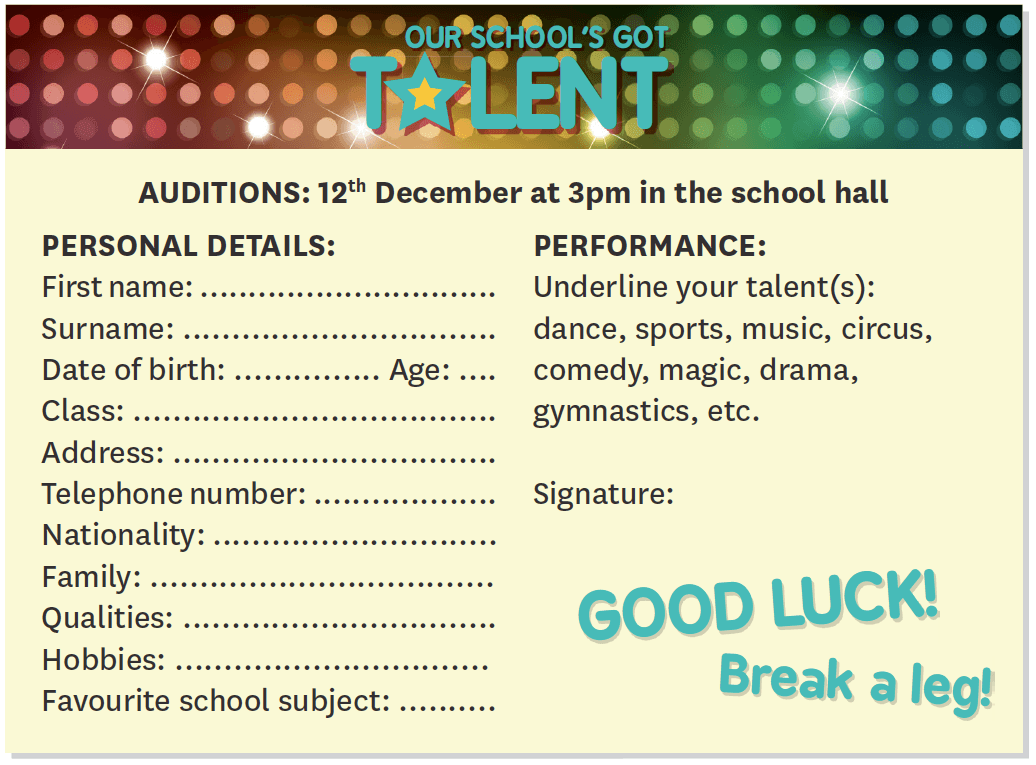 Our school's got talent!