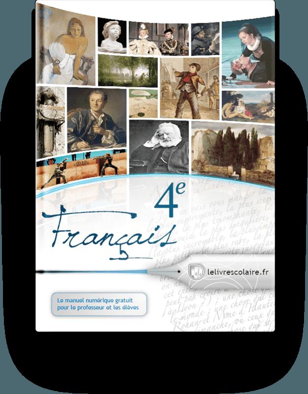 Couverture livre Français 4e
