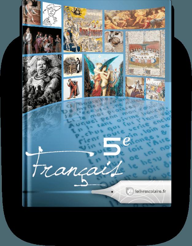 Couverture livre Français 5e