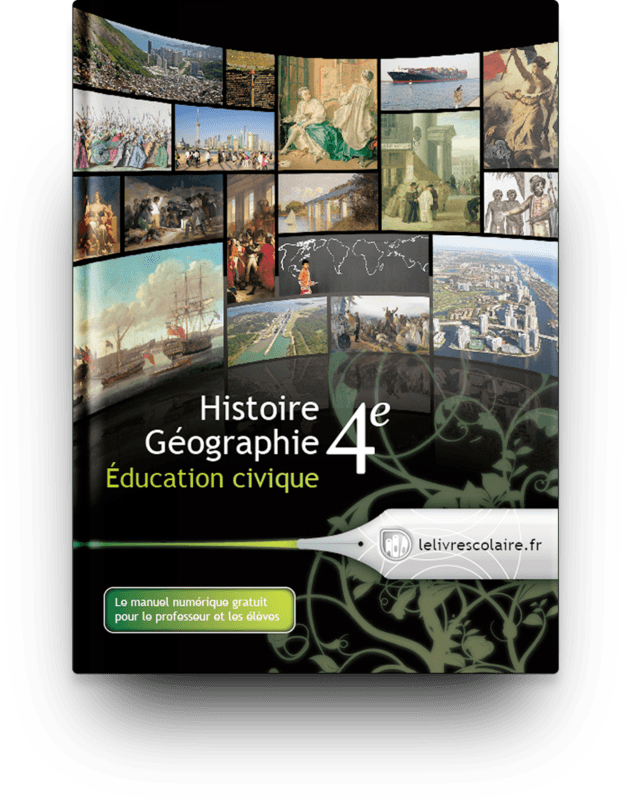 Couverture livre Histoire, Géographie, Éducation civique 4e