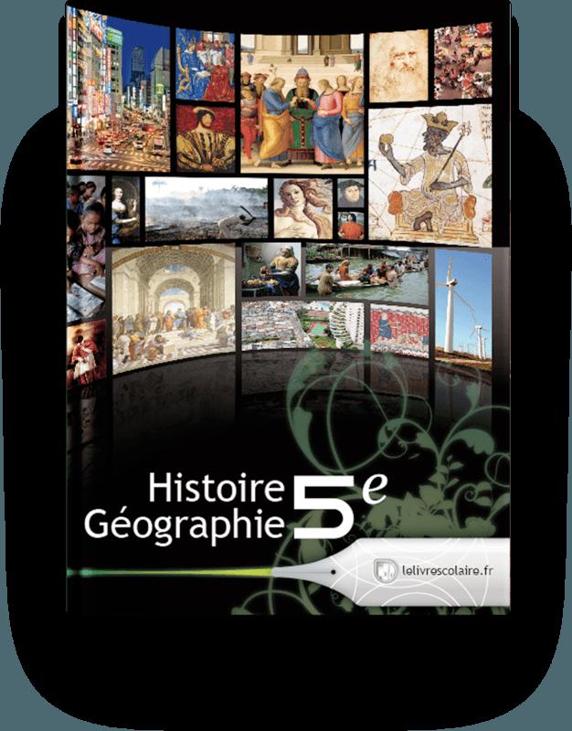 Couverture livre Histoire-Géographie 5e