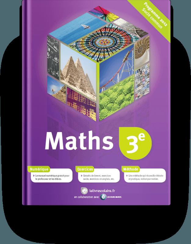 Couverture livre Mathématiques 3e