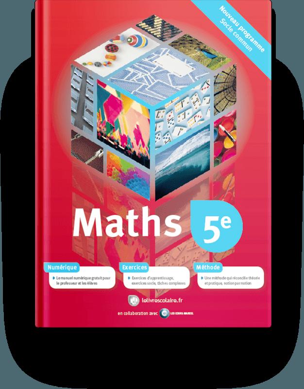 Couverture livre Mathématiques 5e