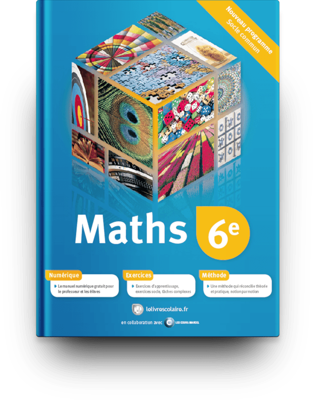 Couverture livre Mathématiques 6e 2012