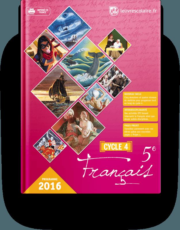 Couverture livre Français 5e 2016
