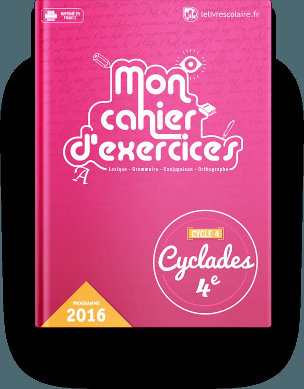Manuel Cahier D Exercices Francais 4e Lelivrescolaire Fr