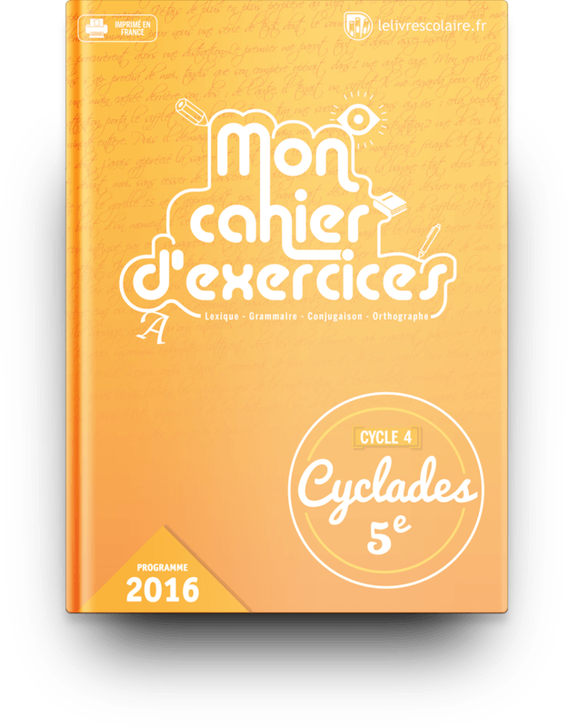Manuel Cahier D Exercices Francais 5e Lelivrescolaire Fr