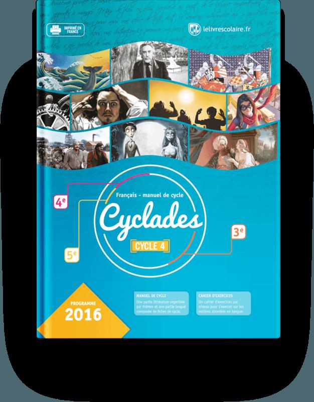 Couverture livre Cyclades