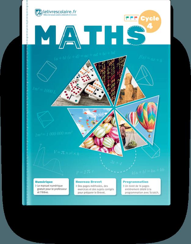 Couverture livre Mathématiques Cycle 4 2016