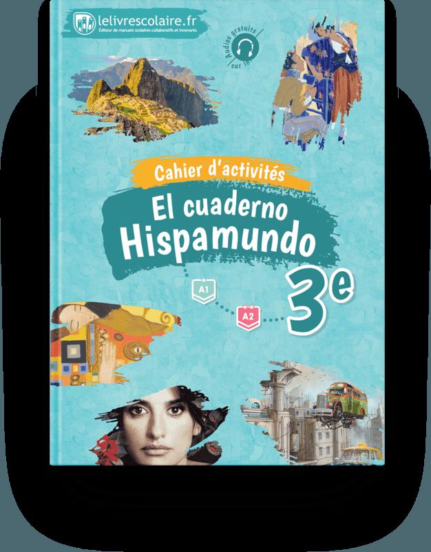 Couverture livre Cahier d'activités - Espagnol 3e 2017