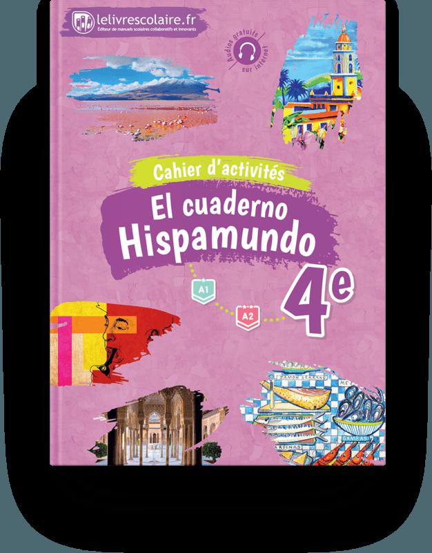 Couverture livre Cahier d'activités - Espagnol 4e 2017