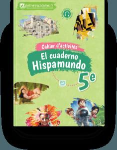 Couverture livre Cahier d'activités - Espagnol 5e 2017