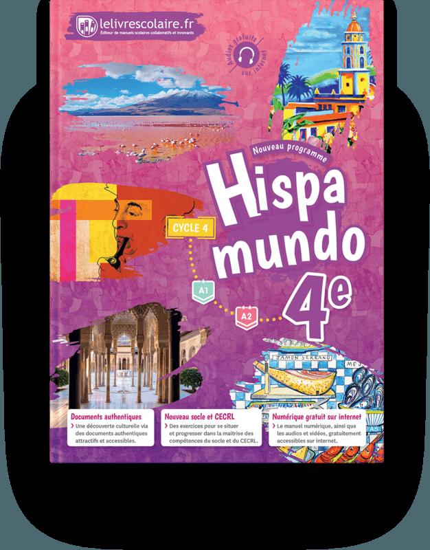 Couverture livre Espagnol 4e 2017
