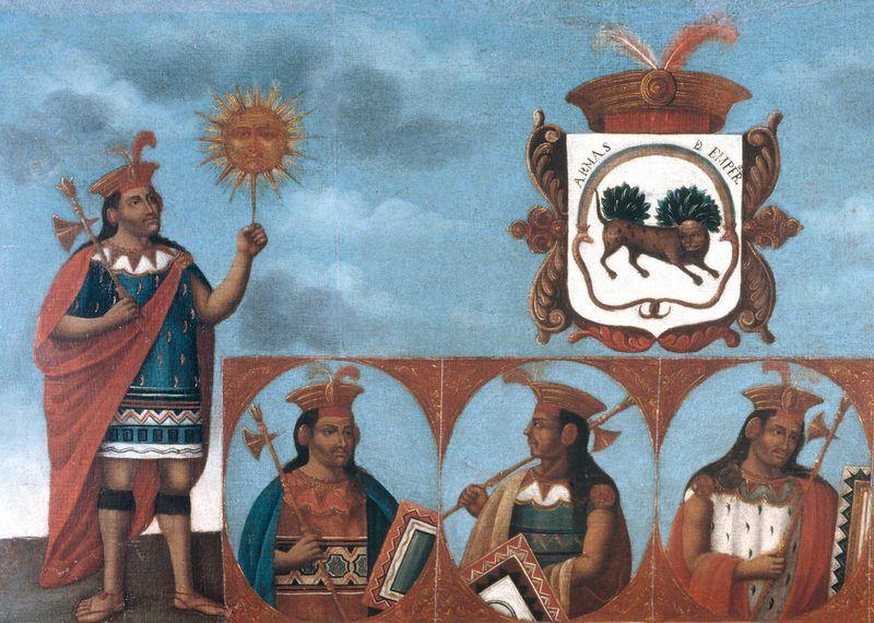 Genealogía de los incas