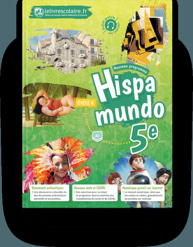 Couverture livre Espagnol 5e 2017