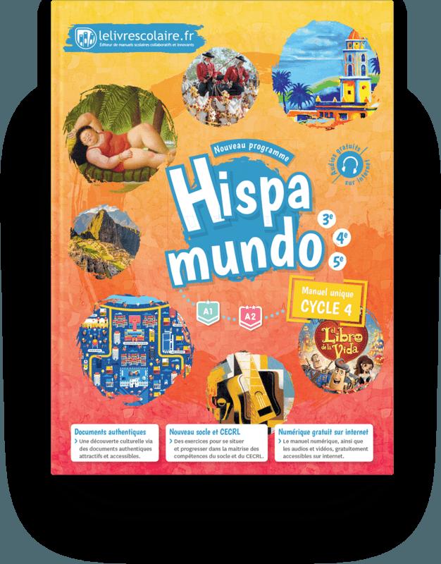 Couverture livre Espagnol Cycle 4 2017