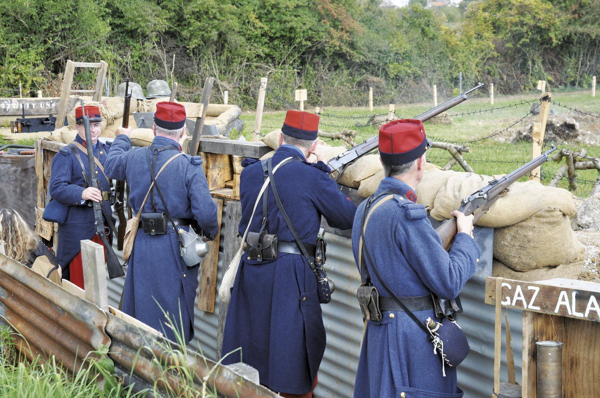 Reconstitution de la bataille de la Marne