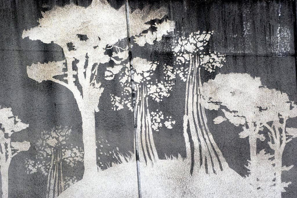 Des arbres pollués