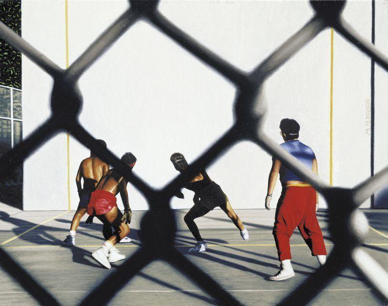 Handball Players (Coney Island)