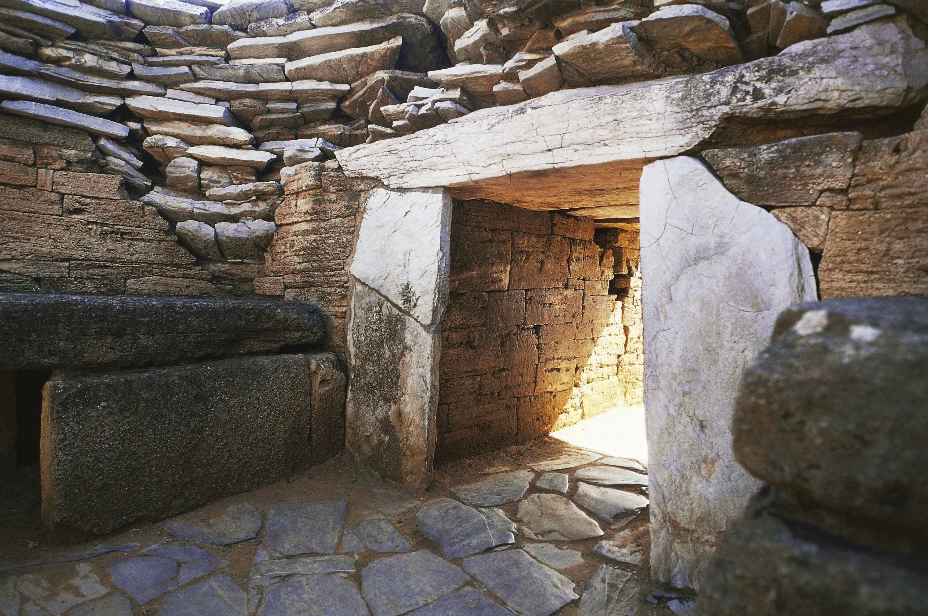 Nécropole étrusque de Populonia