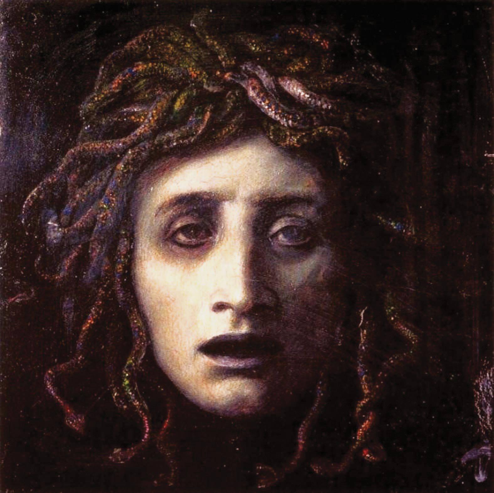 Une femme effrayante