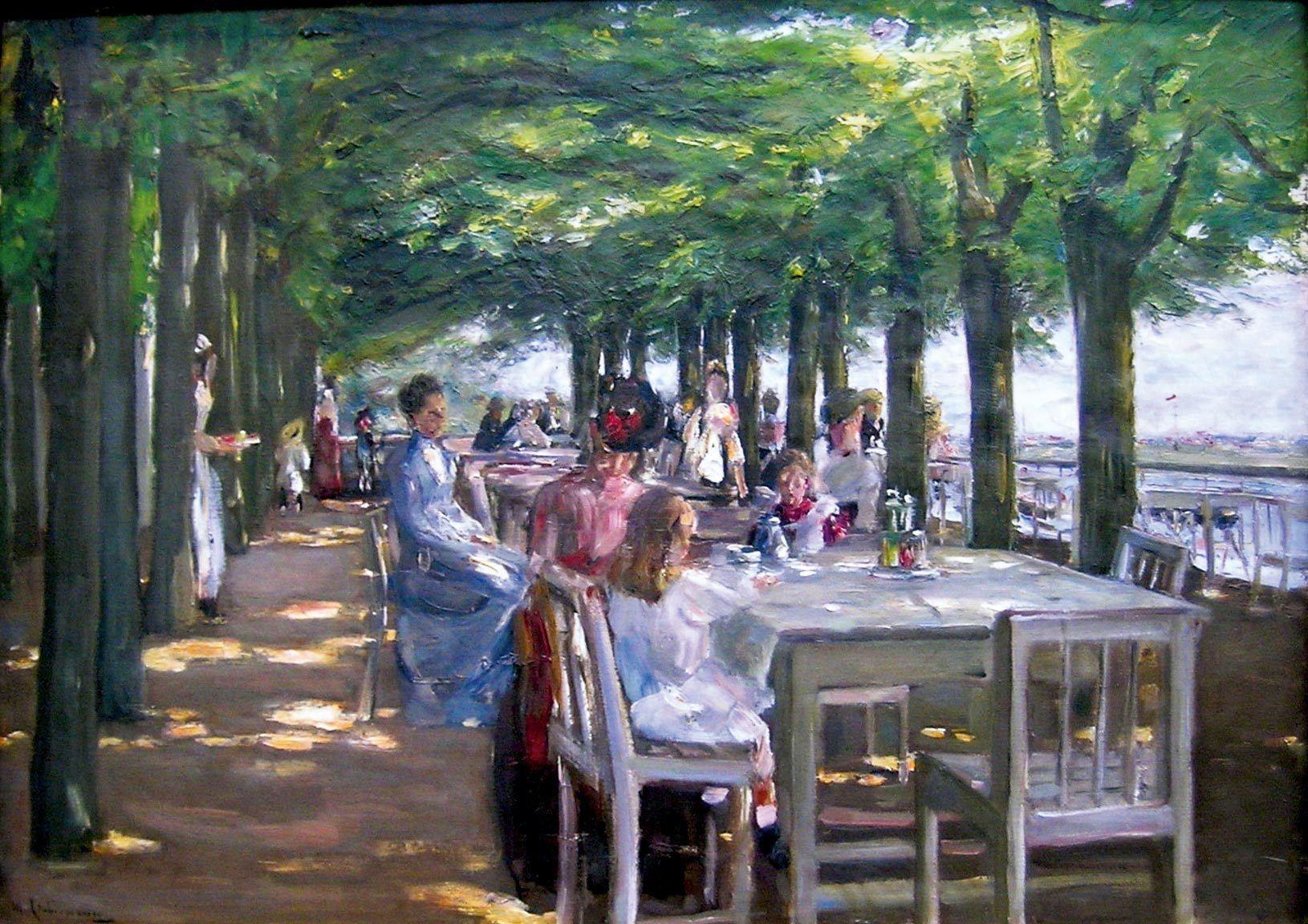 Ex. 11 Déjeuner en terrasse