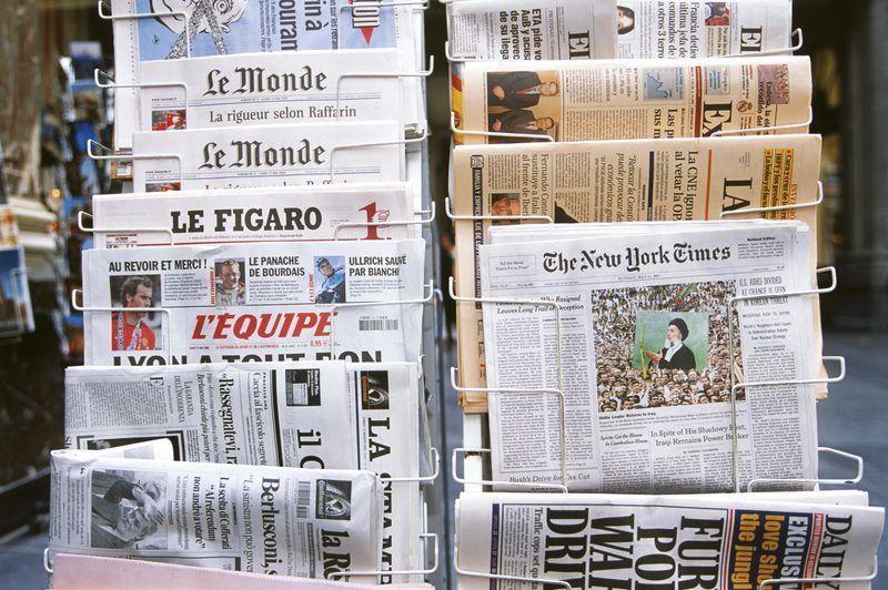 Journaux internationaux