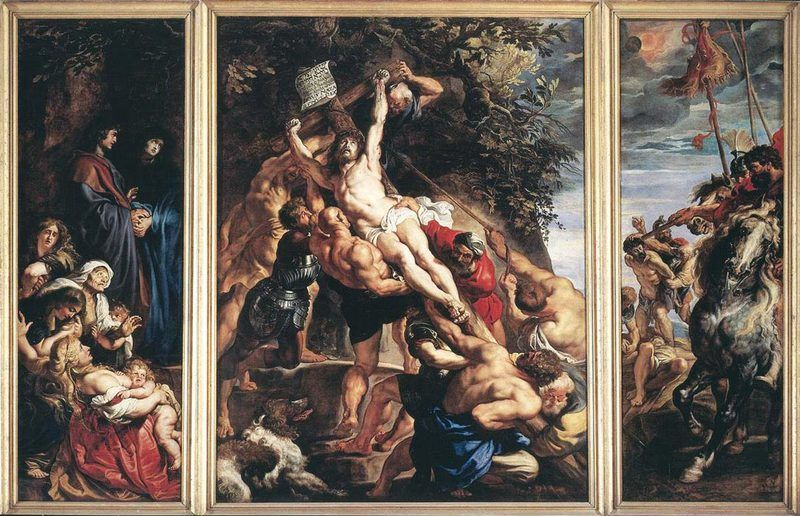 Une peinture baroque
