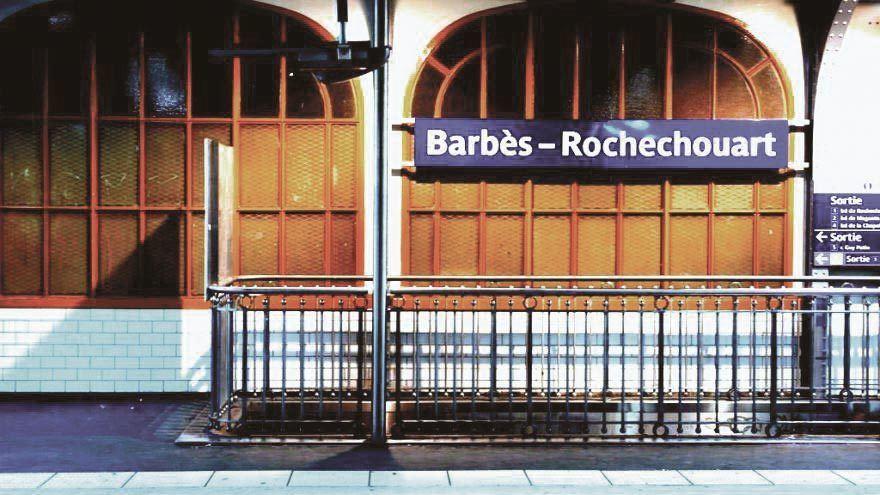 Station de métro Barbès-Rochechouart