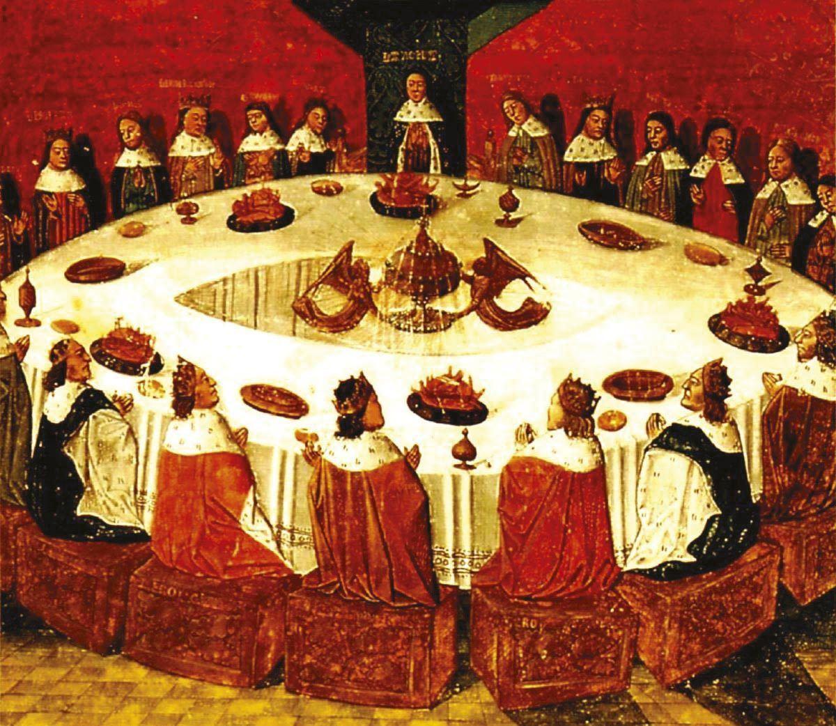 Le roi arthur et les chevaliers de la table ronde - Expose sur les chevaliers de la table ronde ...
