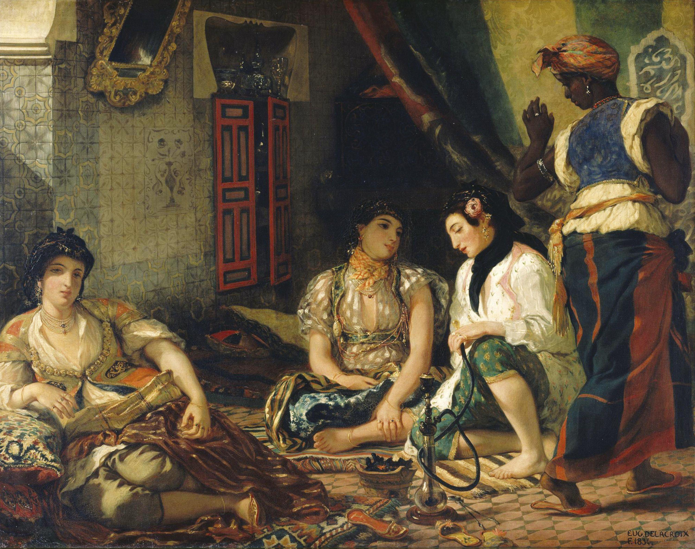 Delacroix et l'Algérie