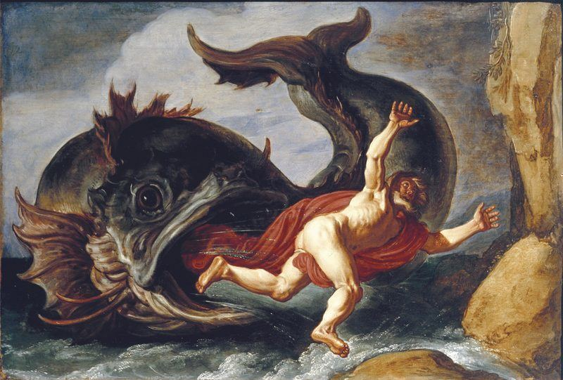 Jonas rejeté par la baleine