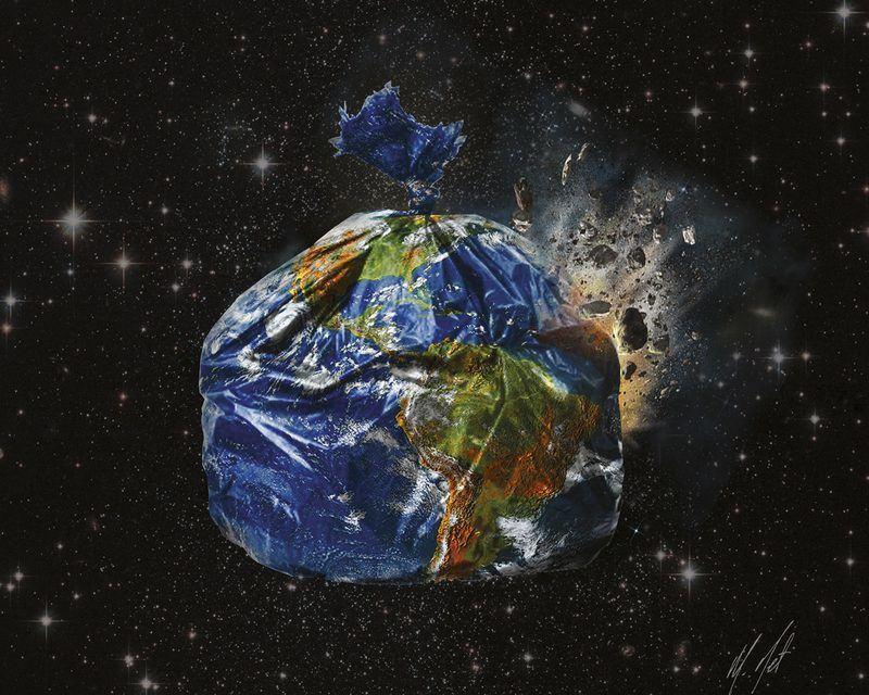 Trashed Earth