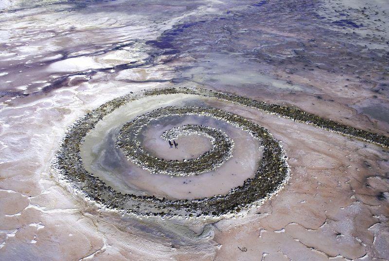 Jetée en spirale