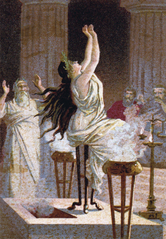 La Pythie, oracle de Delphes