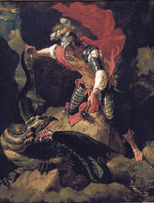 Jason empoisonnant le dragon