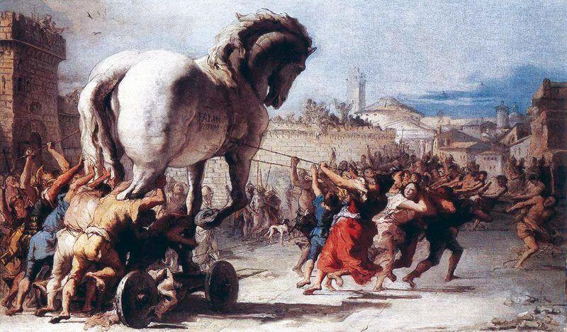 Procession du cheval de Troie
