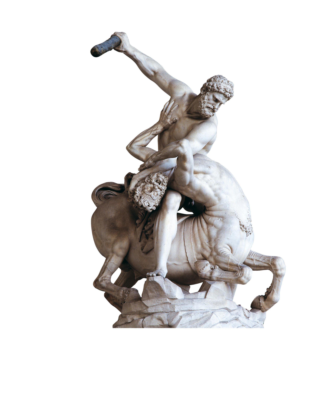 Combat contre le centaure Nessus