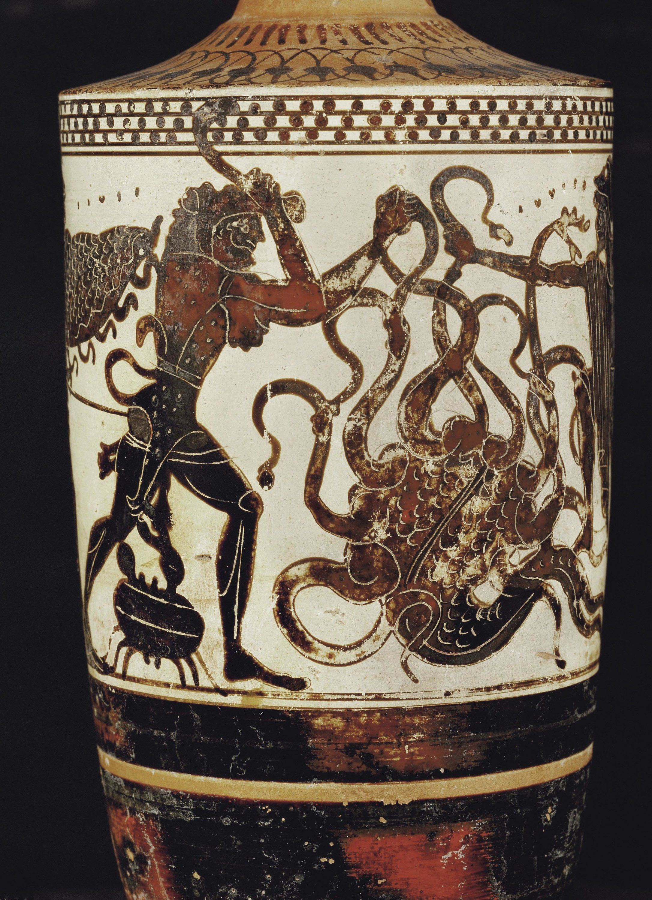 Hercule combat l'hydre