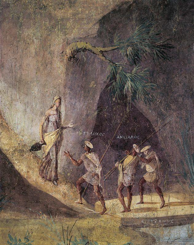 L'art décoratif : la fresque d'une villa