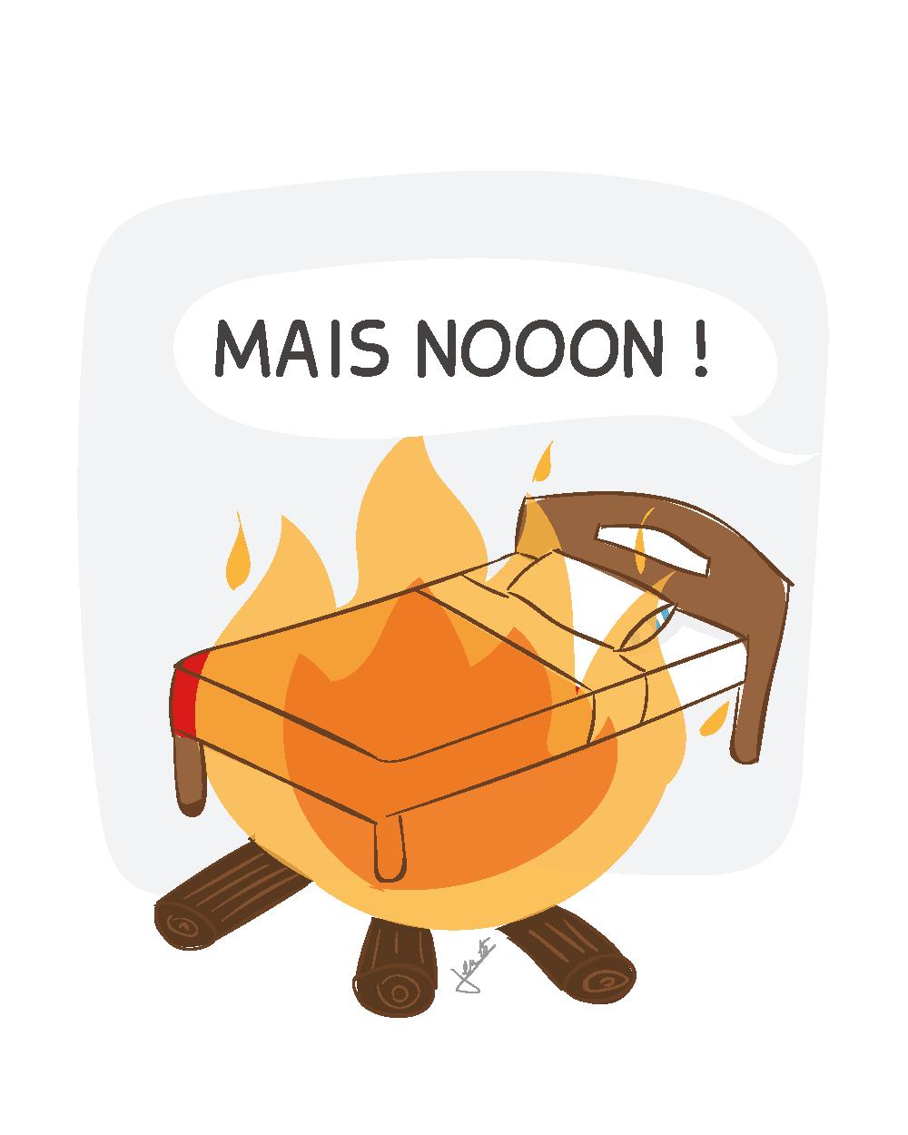 Ex. 3 Un pieu au feu