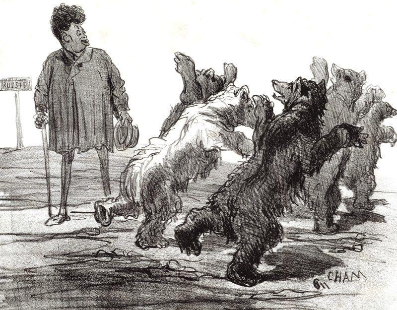 « Dumas et sa réputation de mangeur de biftecks d'ours »