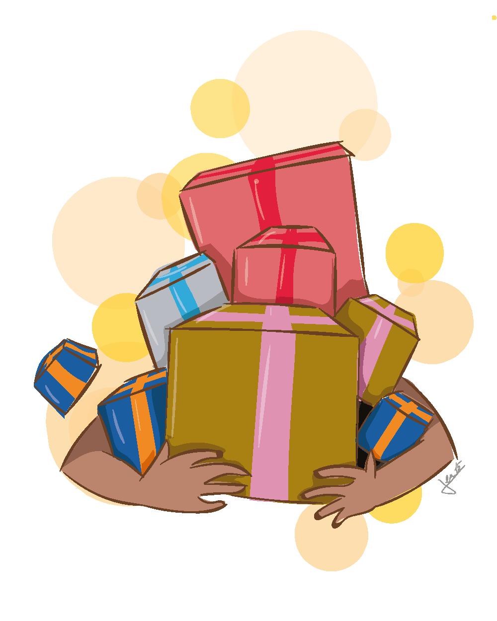 Ex. 4 Des brassées de cadeaux