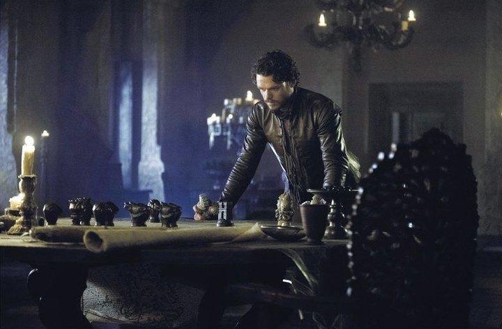 Le chef de guerre Robb Stark dans Le Trône de Fer