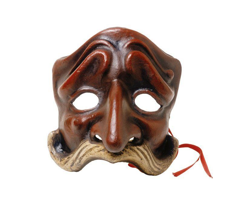 Masque de la commedia dell'arte