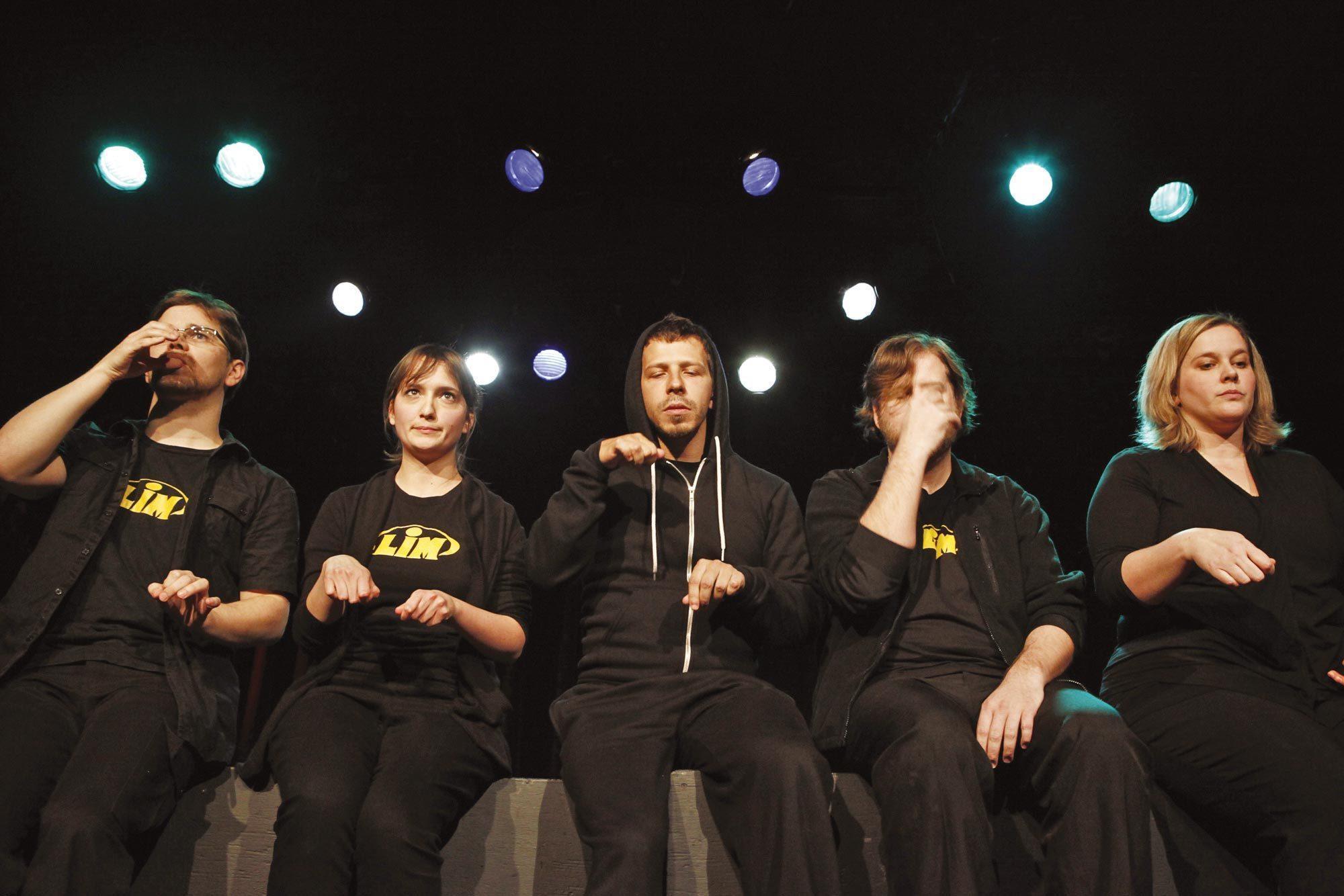 Représentation de la Ligue d'improvisation montréalaise