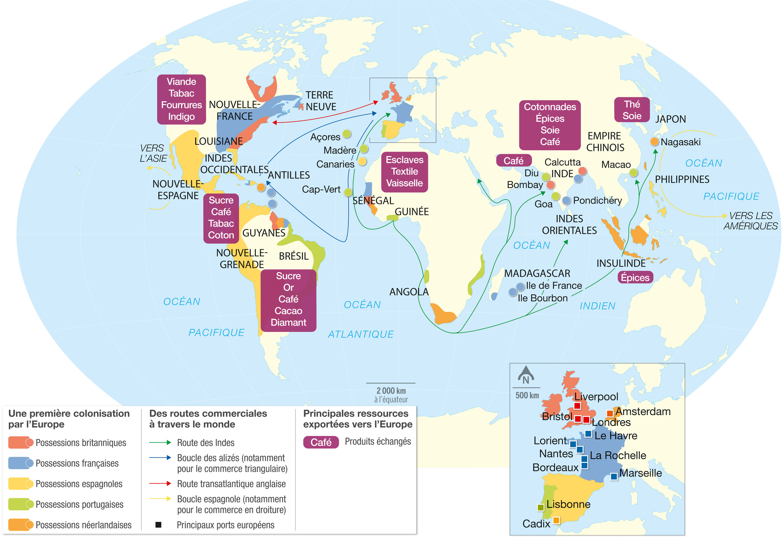 Les traites n gri res et la traite atlantique image - Le grand schtroumpf et la schtroumpfette ...
