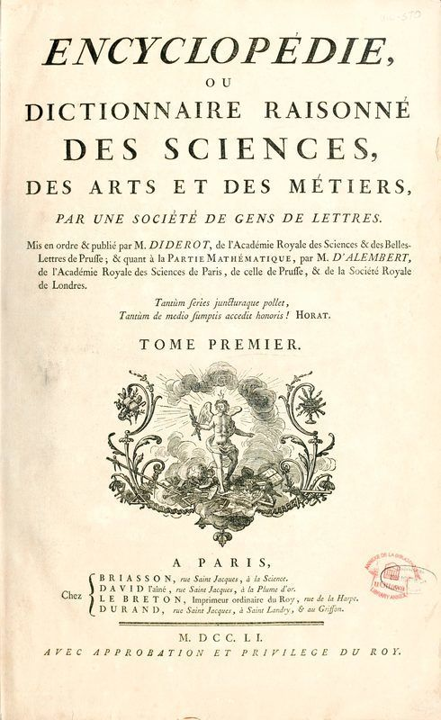 encyclopedie diderot 4e